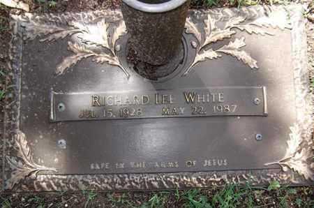 WHITE, RICHARD LEE - Yavapai County, Arizona | RICHARD LEE WHITE - Arizona Gravestone Photos