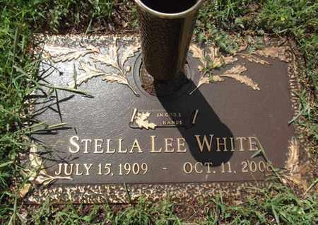 WHITE, STELLA LEE - Yavapai County, Arizona | STELLA LEE WHITE - Arizona Gravestone Photos