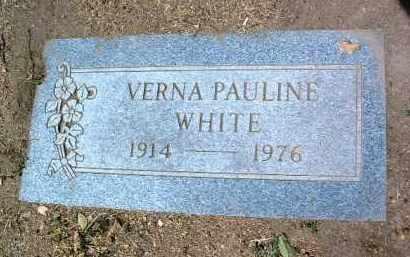 WHITE, VERNA PAULINE - Yavapai County, Arizona | VERNA PAULINE WHITE - Arizona Gravestone Photos