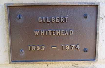WHITEHEAD, GILBERT - Yavapai County, Arizona | GILBERT WHITEHEAD - Arizona Gravestone Photos