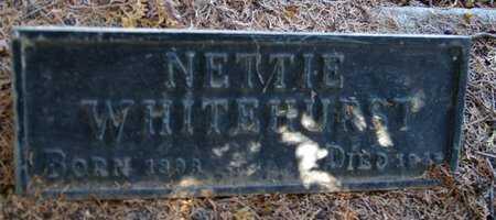 WHITEHURST, NETTIE ELSIE - Yavapai County, Arizona | NETTIE ELSIE WHITEHURST - Arizona Gravestone Photos
