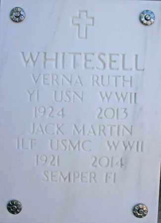 WHITESELL, JACK M. - Yavapai County, Arizona   JACK M. WHITESELL - Arizona Gravestone Photos