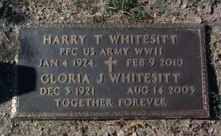 WHITESITT, GLORIA J. - Yavapai County, Arizona | GLORIA J. WHITESITT - Arizona Gravestone Photos