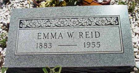 WHITIKER REID, NANCY EMMA - Yavapai County, Arizona | NANCY EMMA WHITIKER REID - Arizona Gravestone Photos