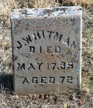 WHITMAN, JOHN - Yavapai County, Arizona | JOHN WHITMAN - Arizona Gravestone Photos