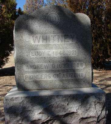 WHITNEY, ANDREW D. - Yavapai County, Arizona | ANDREW D. WHITNEY - Arizona Gravestone Photos