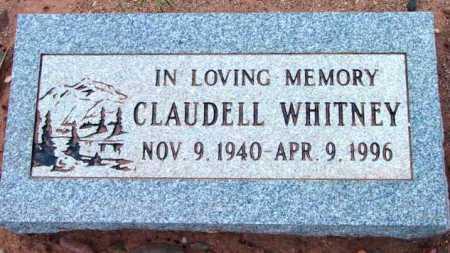 WHITNEY, CLAUDELL - Yavapai County, Arizona   CLAUDELL WHITNEY - Arizona Gravestone Photos