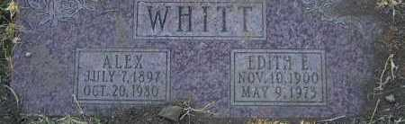 WHITT, ALEX - Yavapai County, Arizona | ALEX WHITT - Arizona Gravestone Photos