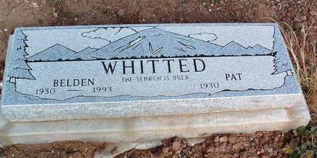 WHITTED, PAT - Yavapai County, Arizona | PAT WHITTED - Arizona Gravestone Photos