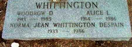 WHITTINGTON DESPAIN, NORMA JEAN - Yavapai County, Arizona | NORMA JEAN WHITTINGTON DESPAIN - Arizona Gravestone Photos
