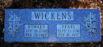 WICKENS, PEARL H. - Yavapai County, Arizona   PEARL H. WICKENS - Arizona Gravestone Photos