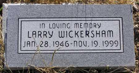 WICKERSHAM, LARRY - Yavapai County, Arizona | LARRY WICKERSHAM - Arizona Gravestone Photos