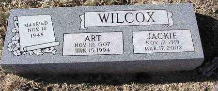 WILCOX, WILLIAM ARTHUR - Yavapai County, Arizona | WILLIAM ARTHUR WILCOX - Arizona Gravestone Photos