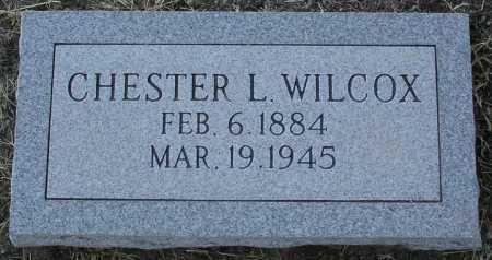 WILCOX, CHESTER L. - Yavapai County, Arizona | CHESTER L. WILCOX - Arizona Gravestone Photos