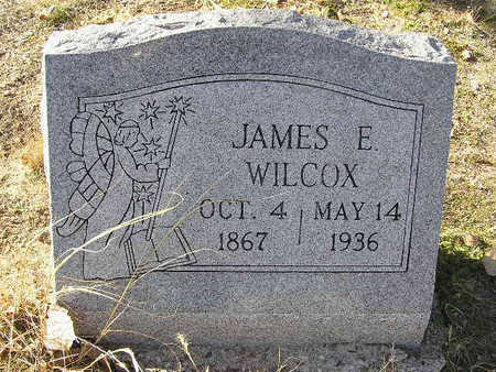 WILCOX, JAMES ELOISIUS - Yavapai County, Arizona   JAMES ELOISIUS WILCOX - Arizona Gravestone Photos