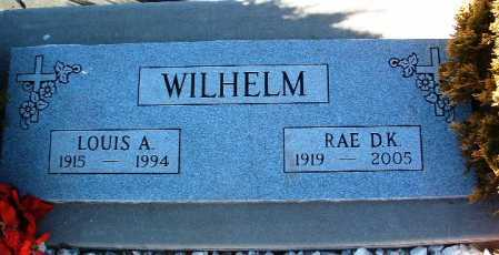 WILHELM, LOUIS A. - Yavapai County, Arizona | LOUIS A. WILHELM - Arizona Gravestone Photos