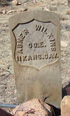 WILKINS, ABNER B. - Yavapai County, Arizona | ABNER B. WILKINS - Arizona Gravestone Photos