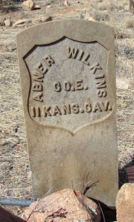 WILKINS, ABNER BERGEWINE - Yavapai County, Arizona | ABNER BERGEWINE WILKINS - Arizona Gravestone Photos