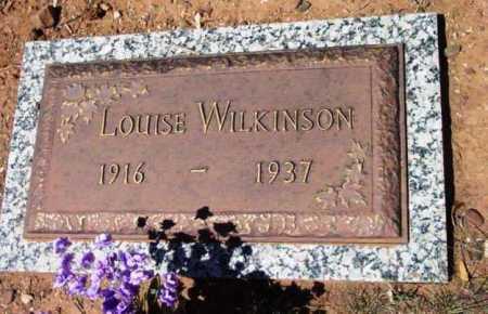 WILKINSON, LOUISE - Yavapai County, Arizona   LOUISE WILKINSON - Arizona Gravestone Photos