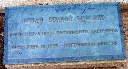 WILLARD, NINIAN EDWARD - Yavapai County, Arizona | NINIAN EDWARD WILLARD - Arizona Gravestone Photos