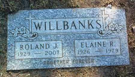 WILLBANKS, ROLAND JESSE - Yavapai County, Arizona   ROLAND JESSE WILLBANKS - Arizona Gravestone Photos