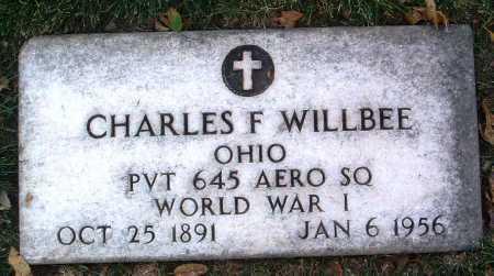WILLBEE, CHARLES F. - Yavapai County, Arizona | CHARLES F. WILLBEE - Arizona Gravestone Photos