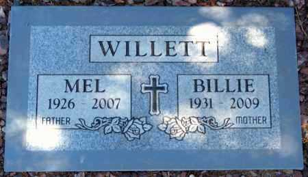 WILLETT, BILLIE JEAN - Yavapai County, Arizona | BILLIE JEAN WILLETT - Arizona Gravestone Photos