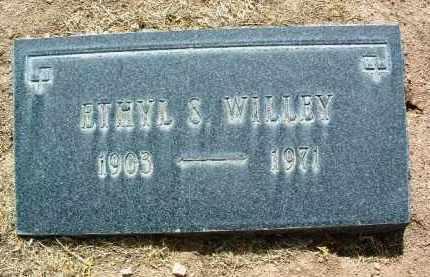 WILLEY, ETHYL S. - Yavapai County, Arizona | ETHYL S. WILLEY - Arizona Gravestone Photos