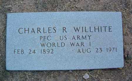 WILLHITE, CHARLES R. - Yavapai County, Arizona | CHARLES R. WILLHITE - Arizona Gravestone Photos