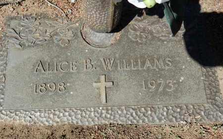 WILLIAMS, ALICE B - Yavapai County, Arizona | ALICE B WILLIAMS - Arizona Gravestone Photos