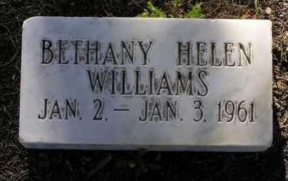WILLIAMS, BETHANY HELEN - Yavapai County, Arizona | BETHANY HELEN WILLIAMS - Arizona Gravestone Photos