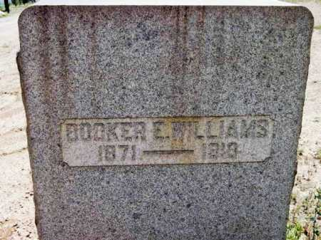 WILLIAMS, BROOKER E. - Yavapai County, Arizona | BROOKER E. WILLIAMS - Arizona Gravestone Photos