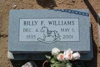 WILLIAMS, BILLY FRANKLIN - Yavapai County, Arizona   BILLY FRANKLIN WILLIAMS - Arizona Gravestone Photos