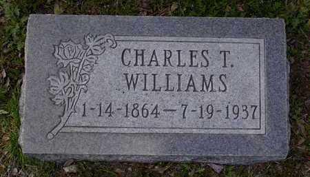 WILLIAMS, CHARLES THOMAS - Yavapai County, Arizona | CHARLES THOMAS WILLIAMS - Arizona Gravestone Photos
