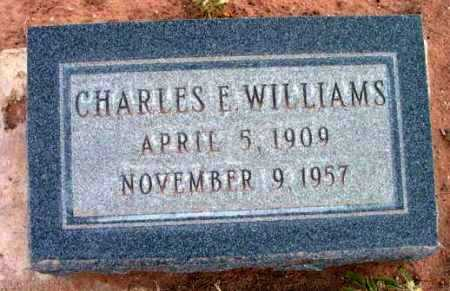 WILLIAMS, CHARLES EDWARD - Yavapai County, Arizona | CHARLES EDWARD WILLIAMS - Arizona Gravestone Photos