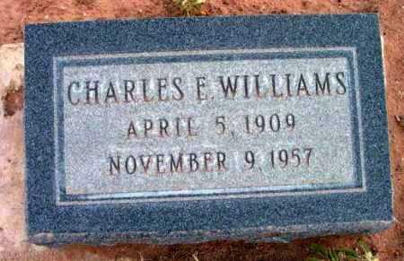 WILLIAMS, CHARLES EDWARD - Yavapai County, Arizona | CHARLES EDWARD WILLIAMS - Arizona Gravestone Photos