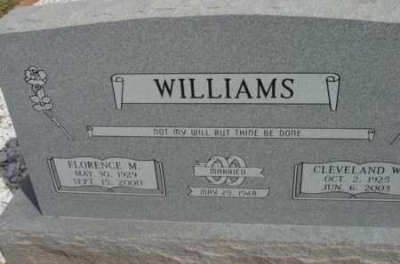 WILLIAMS, FLORENCE MILDRED - Yavapai County, Arizona | FLORENCE MILDRED WILLIAMS - Arizona Gravestone Photos