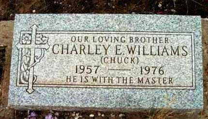 WILLIAMS, CHARLEY E. - Yavapai County, Arizona   CHARLEY E. WILLIAMS - Arizona Gravestone Photos