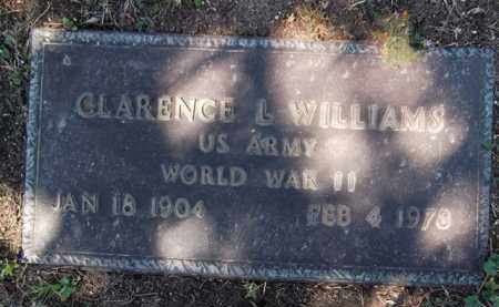 WILLIAMS, CLARENCE L. - Yavapai County, Arizona | CLARENCE L. WILLIAMS - Arizona Gravestone Photos