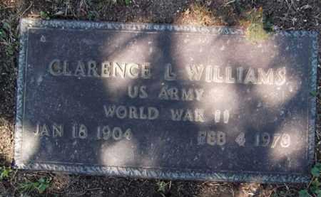 WILLIAMS, CLARENCE L. - Yavapai County, Arizona | CLARENCE L. WILLIAMS - Arizona Gravestone Photos