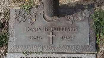 WILLIAMS, DOBY B. - Yavapai County, Arizona | DOBY B. WILLIAMS - Arizona Gravestone Photos