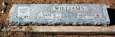 WILLIAMS, EARL A. - Yavapai County, Arizona | EARL A. WILLIAMS - Arizona Gravestone Photos