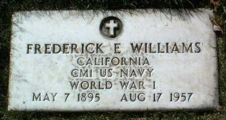 WILLIAMS, FREDERICK E. - Yavapai County, Arizona   FREDERICK E. WILLIAMS - Arizona Gravestone Photos