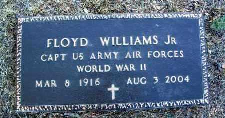 WILLIAMS, FLOYD, JR. - Yavapai County, Arizona | FLOYD, JR. WILLIAMS - Arizona Gravestone Photos