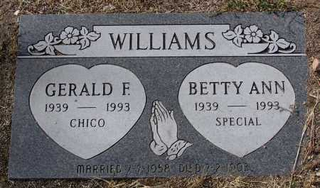 WILLIAMS, BETTY ANN - Yavapai County, Arizona | BETTY ANN WILLIAMS - Arizona Gravestone Photos