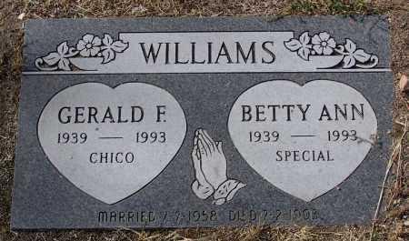 WILLIAMS, BETTY ANN - Yavapai County, Arizona | BETTY ANN WILLIAMS - Arizona Gravestone Photos