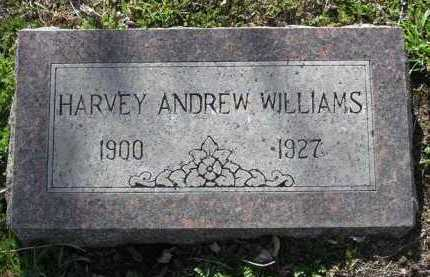 WILLIAMS, HARVEY ANDREW - Yavapai County, Arizona | HARVEY ANDREW WILLIAMS - Arizona Gravestone Photos