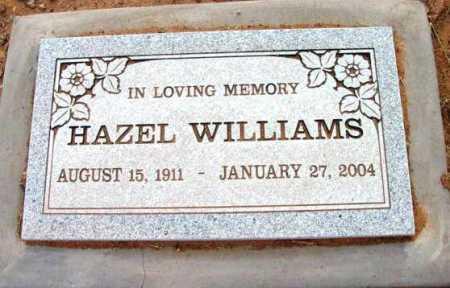 HIGGINS WILLIAMS, HAZEL - Yavapai County, Arizona | HAZEL HIGGINS WILLIAMS - Arizona Gravestone Photos