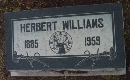 WILLIAMS, HERBERT - Yavapai County, Arizona | HERBERT WILLIAMS - Arizona Gravestone Photos