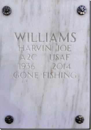 WILLIAMS, HARVIN JOE - Yavapai County, Arizona | HARVIN JOE WILLIAMS - Arizona Gravestone Photos